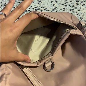 Calvin Klein dusty rose backpack